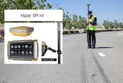 TOPCON Hiper SR kit